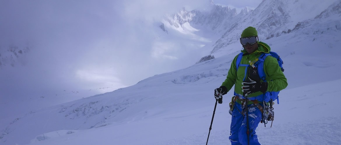 Backcountry skiing with the Mountain Adventure Company